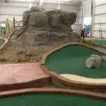 miniature golf course