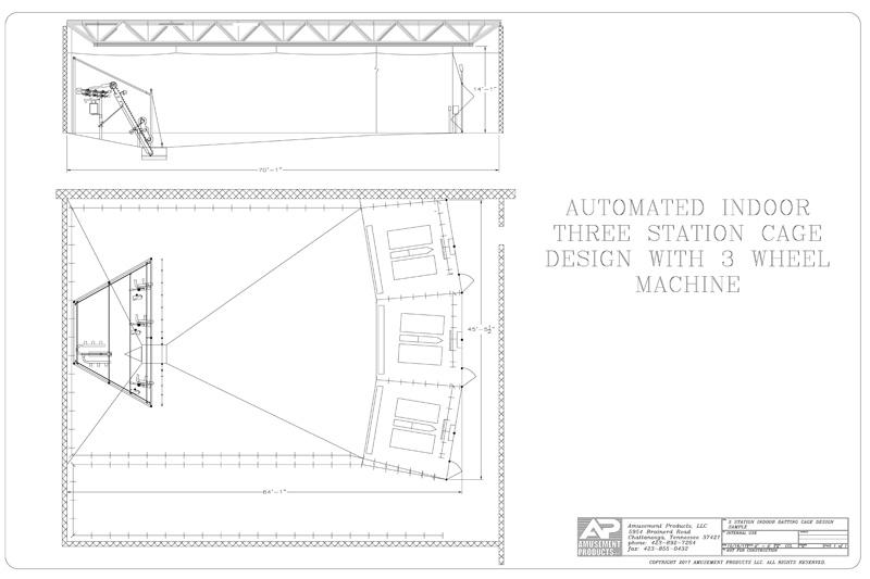 3 Station Cage Design