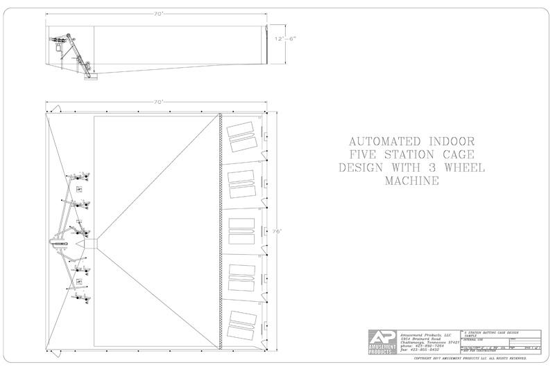 5 Station Cage Design
