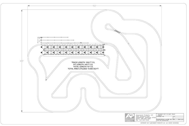 go kart track designs amusement construction
