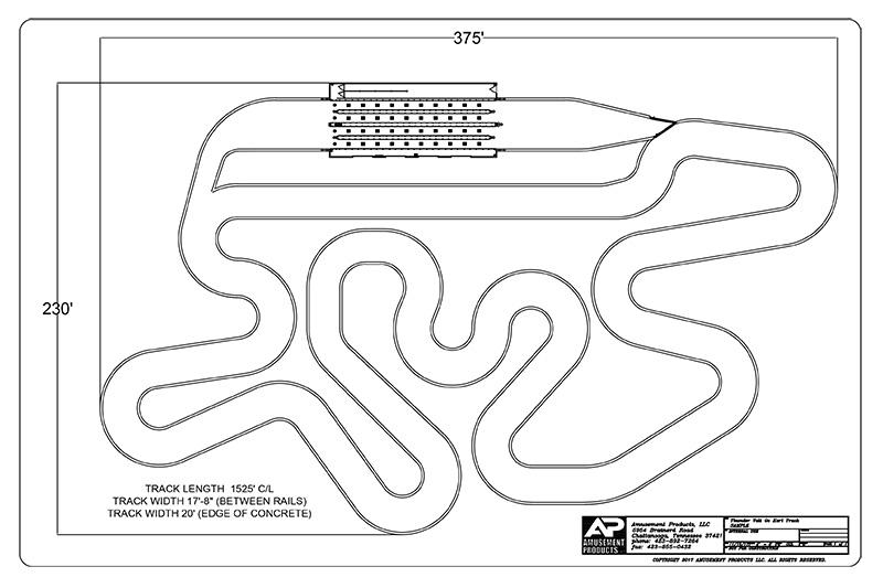go kart - track designs